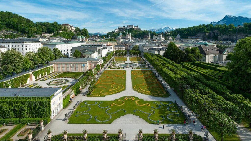 Schloss Mirabell (Mirabell Palace) and Gardens