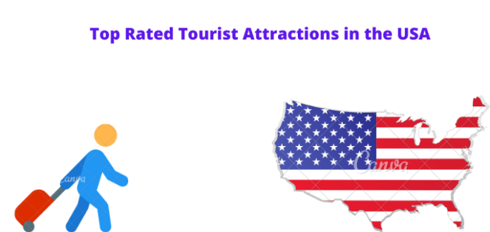 Top Rated Tourist Place OF Attractions in the USA.