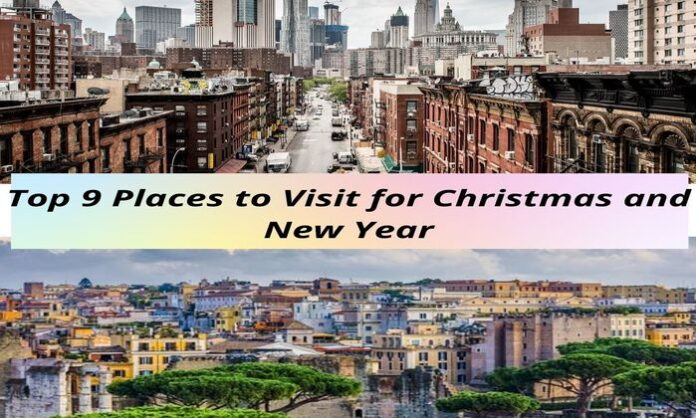 best places to go for christmas