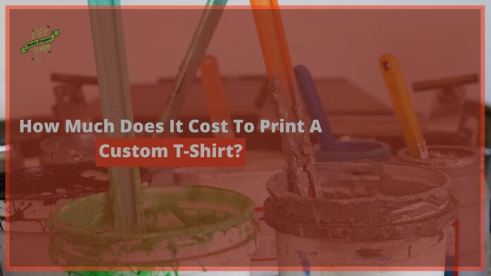 Cost of T Shirt Printing